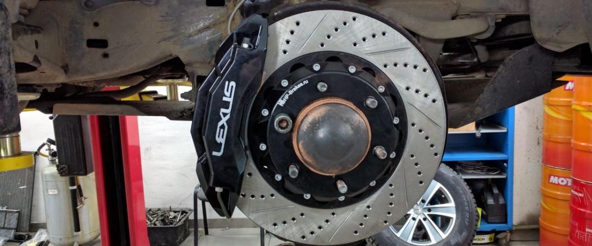 Диагностика и ремонт тормозной системы, проточка тормозных дисков